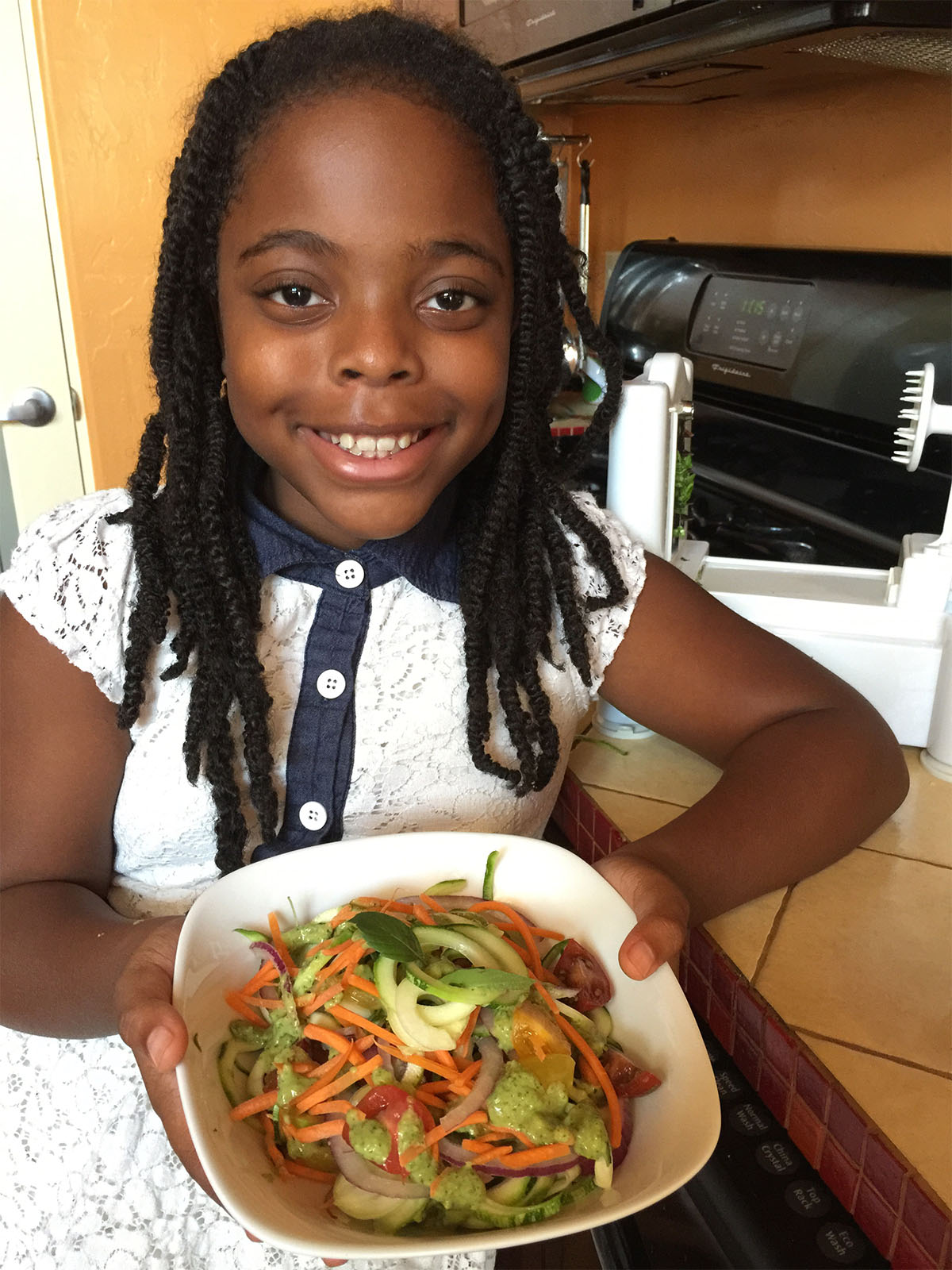 Nia Thomas, winner of 2015 Healthy Lunchtime Challenge
