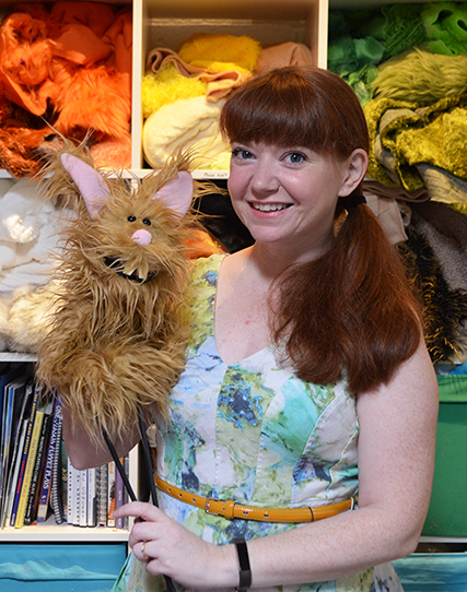 Puppeteer Stacey Gordon