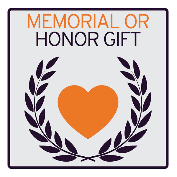 Memorial or honor gift