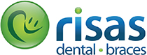 Risas Dental and Braces logo