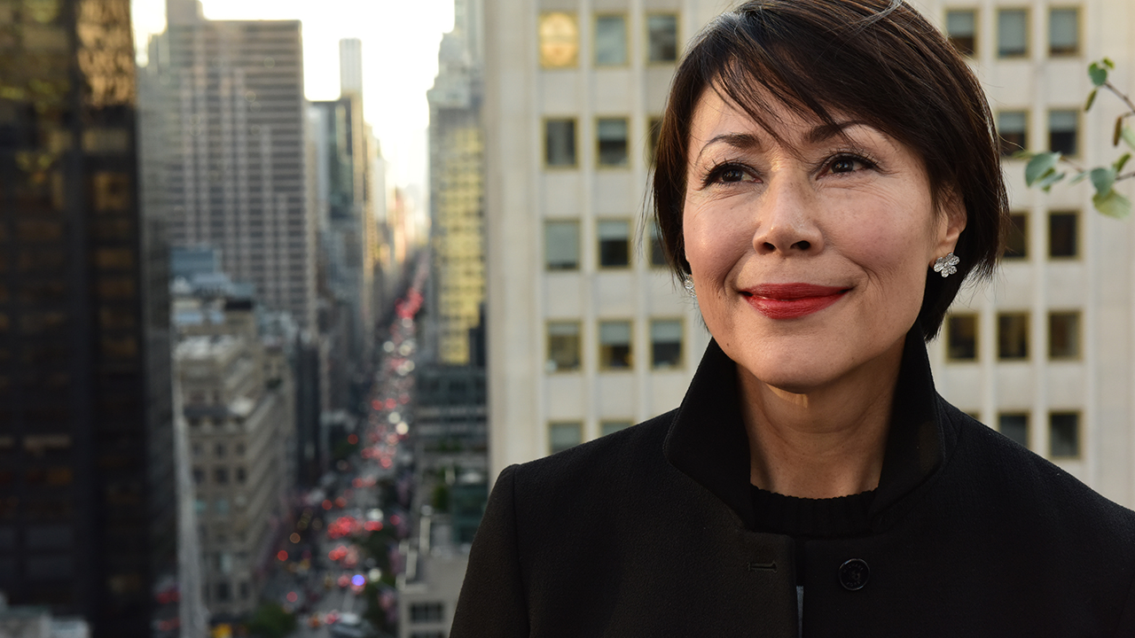 Ann Curry, host of 'We'll Meet Again'