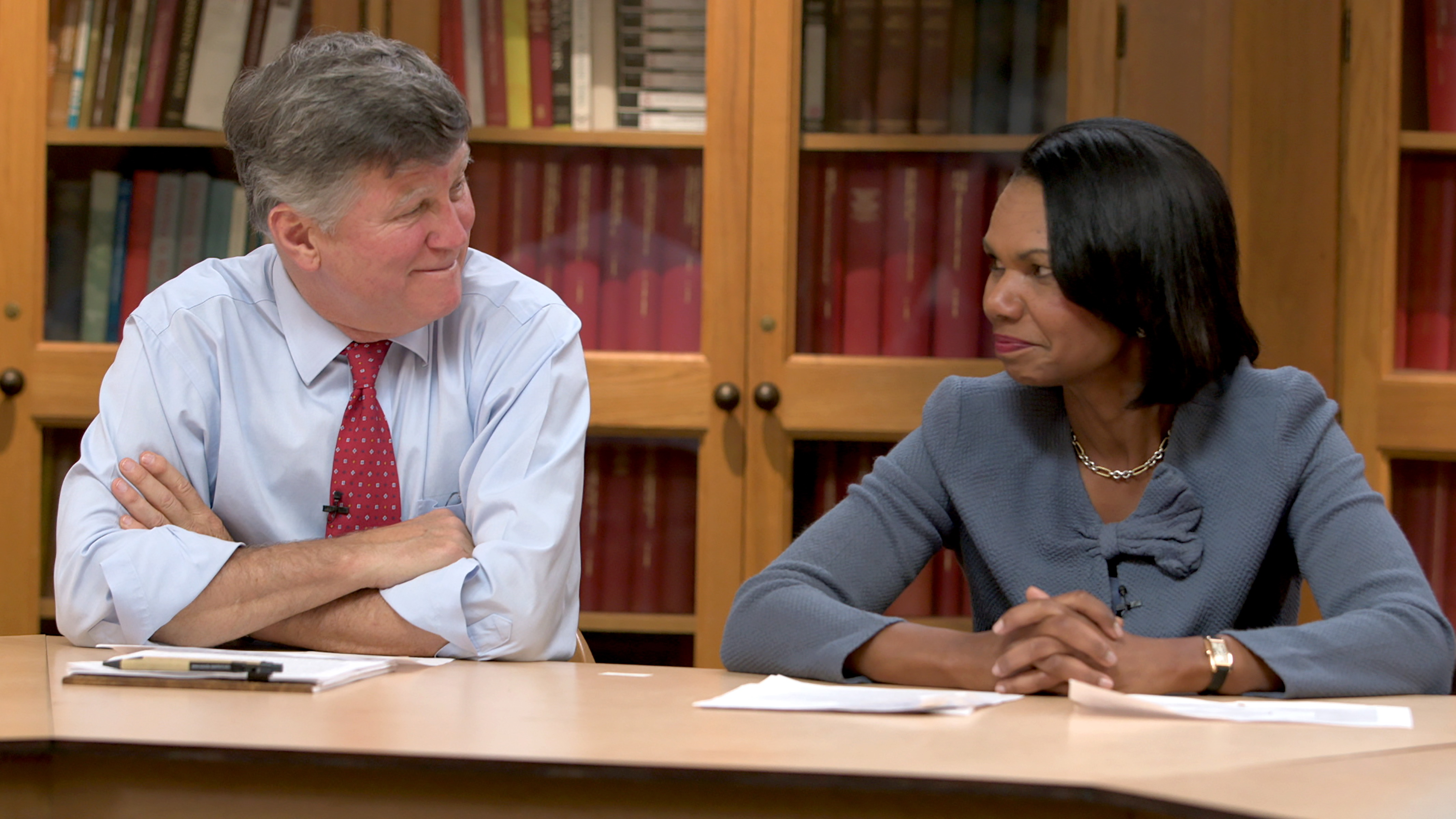 "Condoleezza Rice and David M. Kennedy in ""American Creed"""