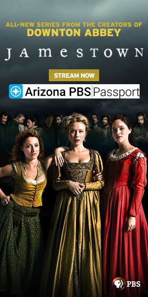 Stream 'Jamestown' on Arizona PBS Passport