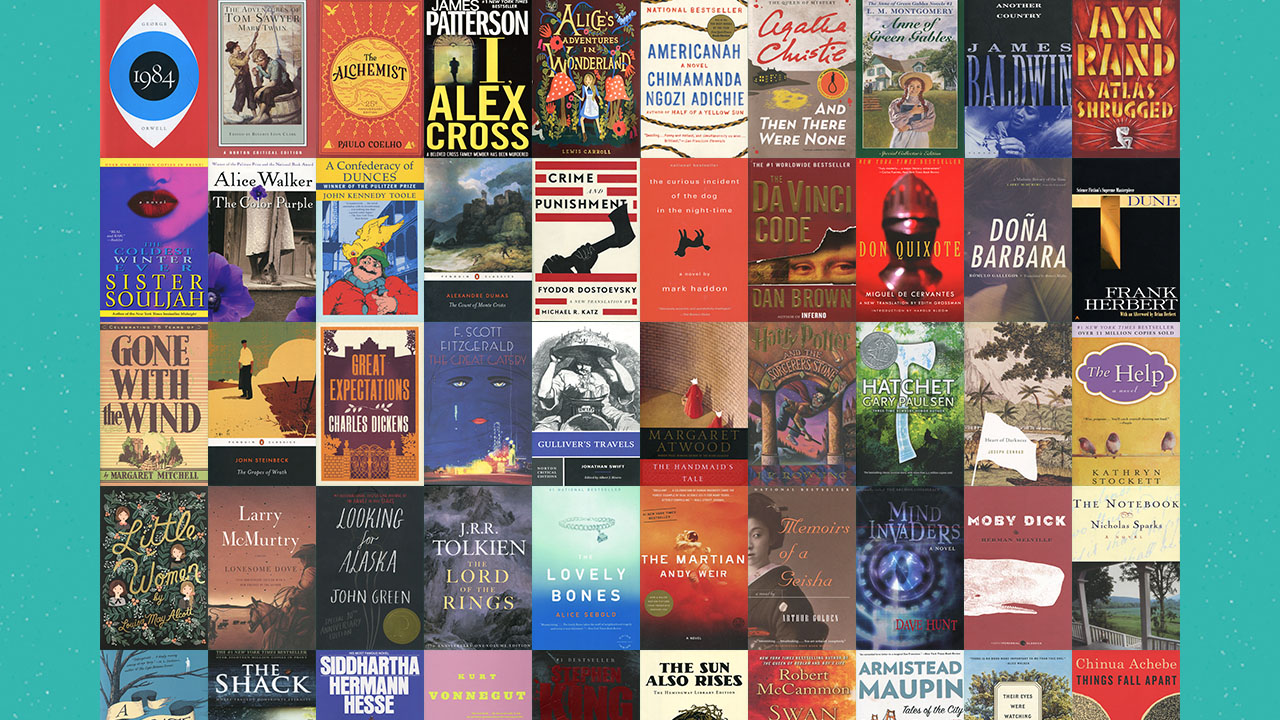 The Great American Read book list