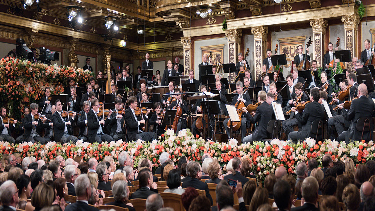 Begin the new year with a Vienna Philharmonic concert ...