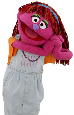 Lily, courtesy Sesame Workshop