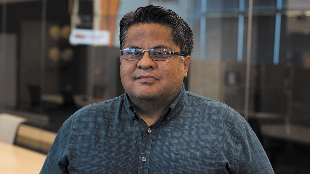 Arizona PBS producer Mike Sauceda