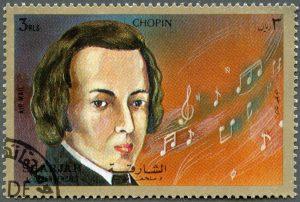 Chopin stamp