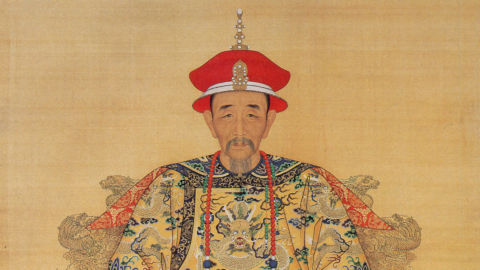 Portrait of a Chinese emperor