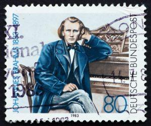Brahms stamp