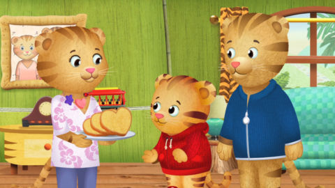 Characters from Daniel Tiger's Neighborhood