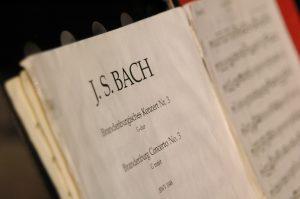 Bach music manuscript