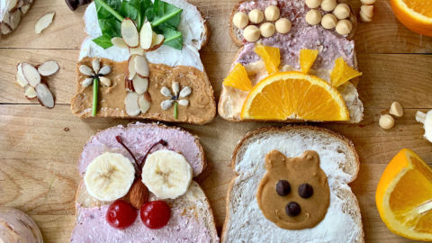 You can create delicious plants, animals, scenes from nature and so much more on your artistic toast.