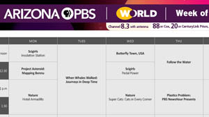 Arizona PBS daytime weekly programming schedule