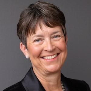 Dr. Edith Copley close up