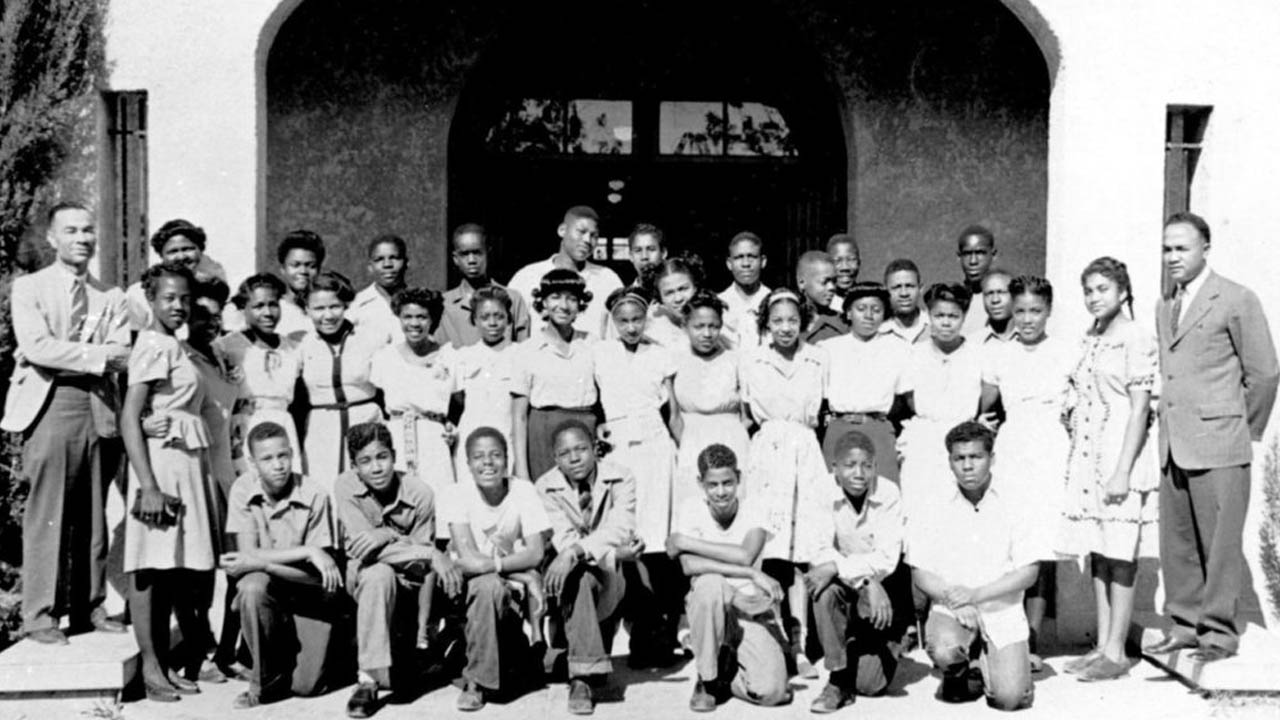 Students of Tucson's Dunbar School