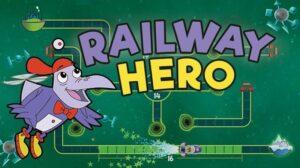 Logo for Railway Hero game